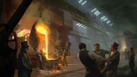 ACS Smelting Chamber Torture - Concept Art
