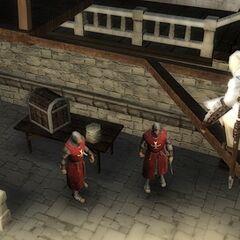 阿泰尔监视圣殿骑士