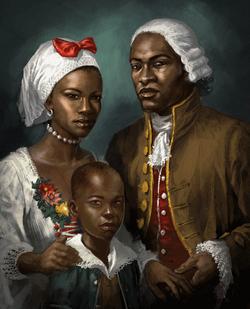 Davenport family painting