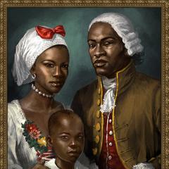 一幅描繪阿基里斯家庭的油畫