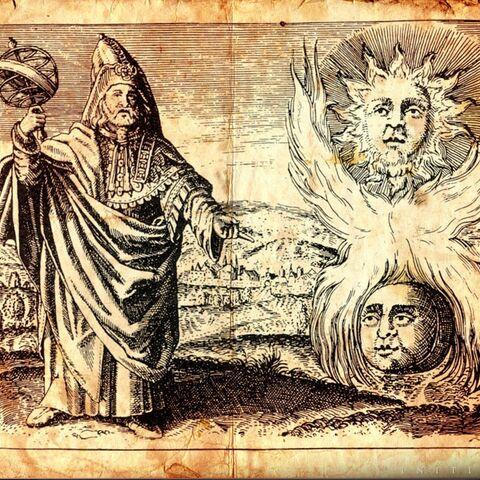 一张关于赫尔墨斯·特利斯墨吉斯忒斯的插图