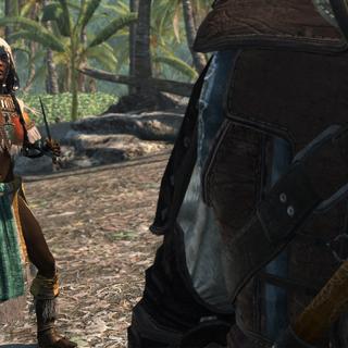 歐琵婭與愛德華比賽狩獵
