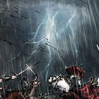 阿勒曼尼人和罗马士兵激斗