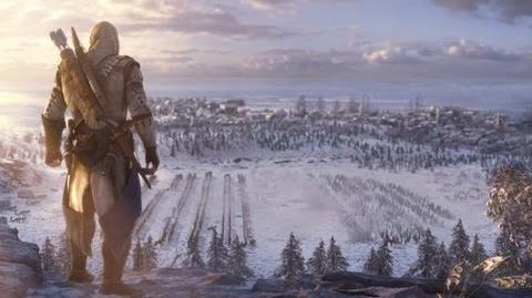 Assassin's Creed III Дебютный трейлер