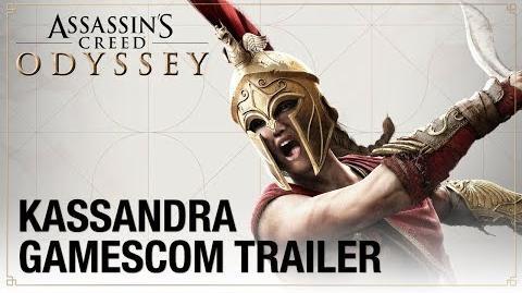 Assassin's Creed Odyssey Gamescom 2018 - Kassandra Cinematic Trailer Ubisoft NA