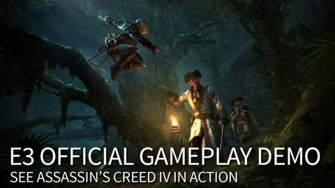 E3 Official Gameplay Demo Assassin's Creed 4 Black Flag North America