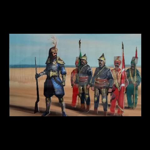 穆拉特領導禁衛軍