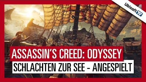 Assassin's Creed Odyssey - Schlachten zur See angespielt Ubisoft-TV