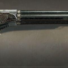 阿诺的手枪原画