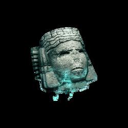 AC4DB - Bust of a water deity