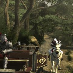 Ezio poursuivant le deuxième canon