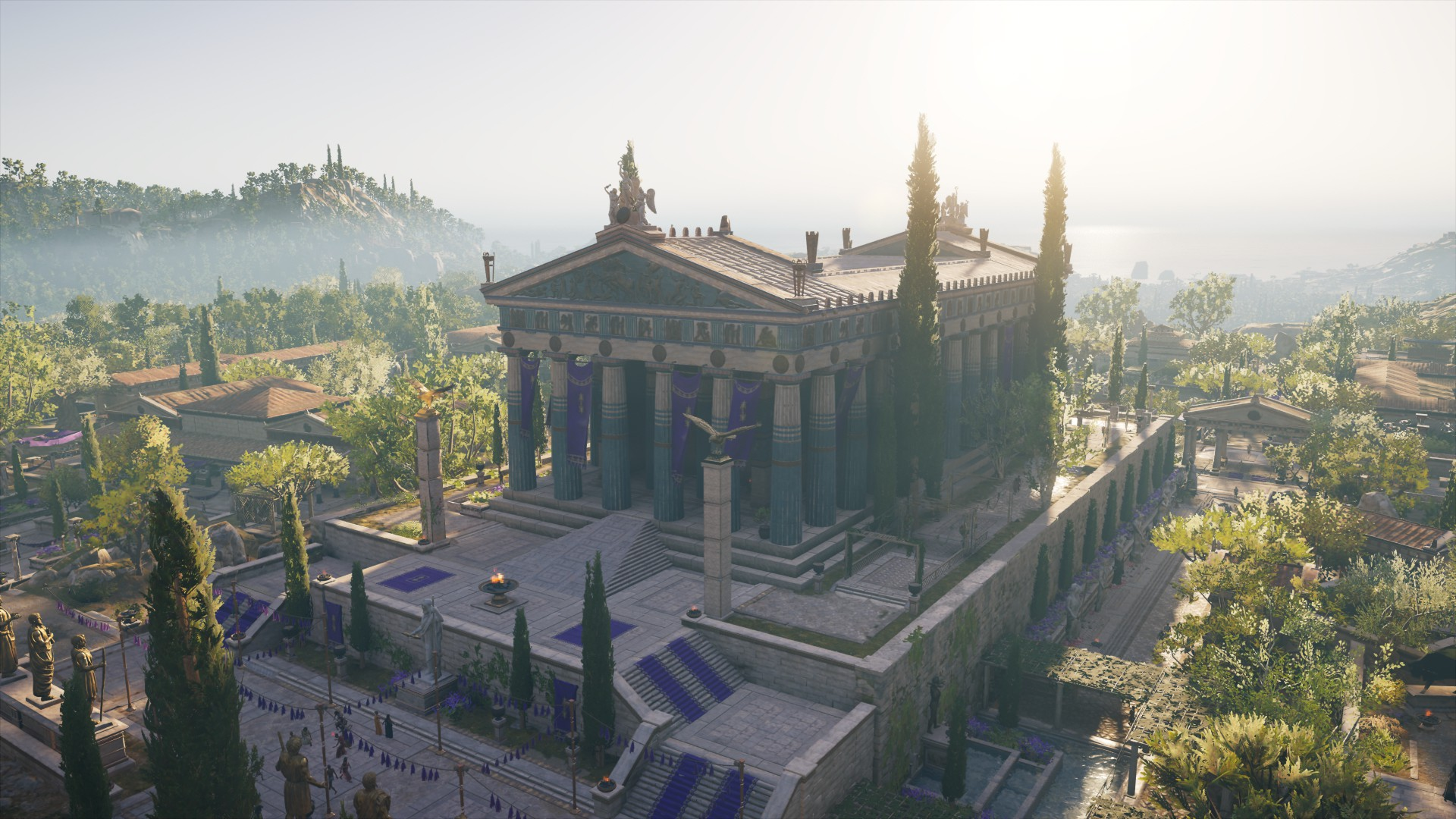 Temple Of Zeus Olympia Assassin S Creed Wiki Fandom