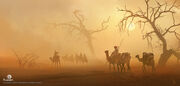ACO Desert Bandits Concept Art