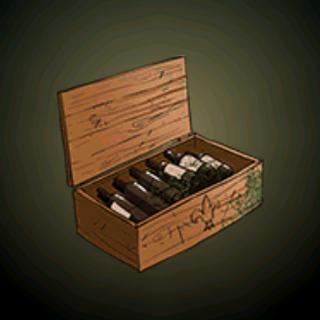 酒箱 - 这箱珍贵的战利品能把口渴的海盗变成烂醉的酒鬼。