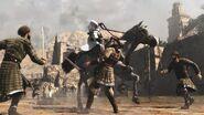 Altair attaque sur cheval