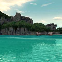 众多岛屿的其中一个