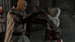 AC1 Solomon's Temple Altair attacks Robert