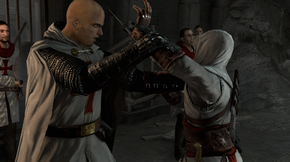 AC1 Solomon's Temple Altair attacks Robert