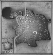 ACB Map of Rome