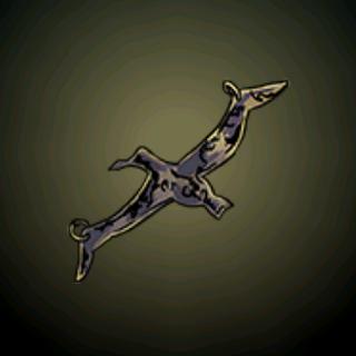 信天翁垂饰 - 当水手在海上看到这只鸟时,他们将之视为幸运之神站在他们这边的象征。