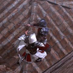 埃齐奥刺杀了火绳枪兵