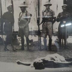甘地的尸体