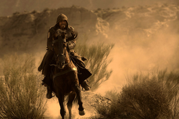 Aguilar na koniu