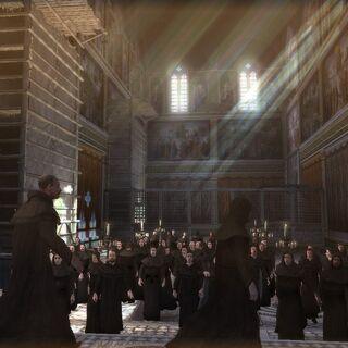 梵蒂冈神父与僧侣的集会