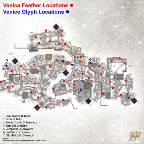 威尼斯符文地图