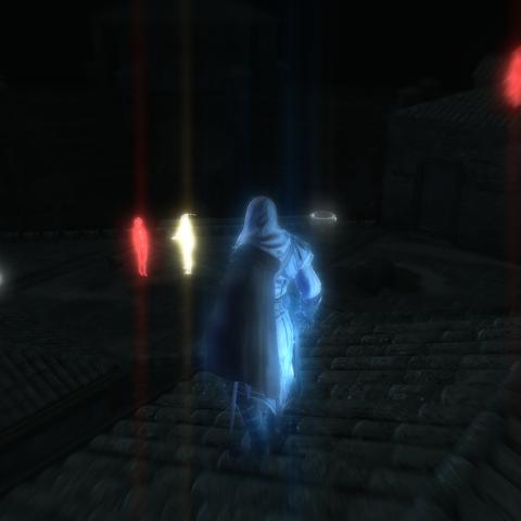 Ezio localisant sa cible