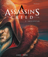 Assassin's Creed fumetto francese cover Accipiter