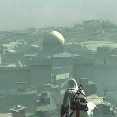 俯瞰圣殿山