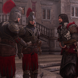 Cesare retrouvant ses capitaines