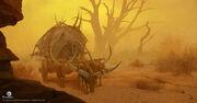 ACO Desert Carriage Concept Art