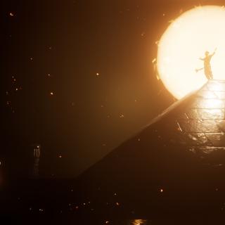 Le Fils de Rê au sommet de sa pyramide
