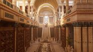 ACO Library of Alexandria side interior