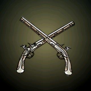 燧发手枪 - 这对精心打造的武器很可能是荷兰富商的个人物品。