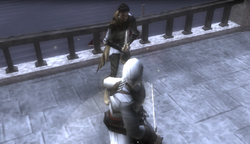 Altair duelling Maria