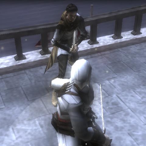 Altaïr duelling Maria