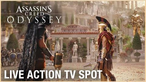 Assassin's Creed Odyssey Live Action TV Spot Ubisoft NA