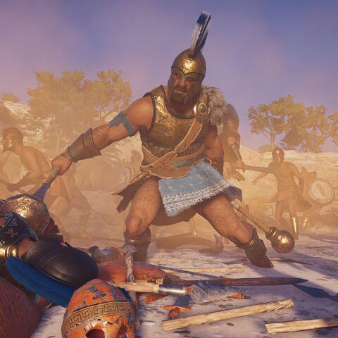 战斗中的狄俄克勒斯