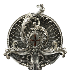 Une épingle de Templier fabriquée par <b>Germain</b>