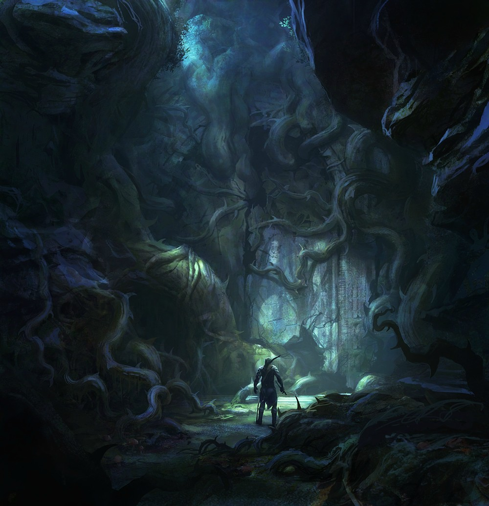 Cave Door Concept   AC3   By George Rushing (2)
