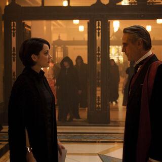 Alan et Sophia Rikkin lors d'une cérémonie templière
