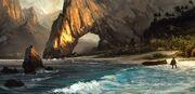 AC4 Caribbean Beach - Concept Art