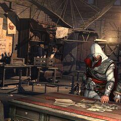 Ezio et Salaì dans l'<a class=