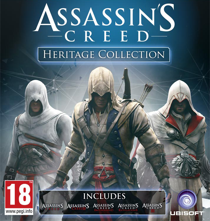 Assassin S Creed Heritage Collection Assassin S Creed Wiki Fandom