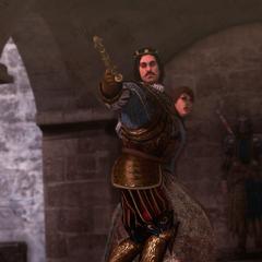 奥克塔维安将潘塔西莉亚作为人质