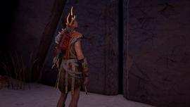 Kasandra przed wrotami Starożytnej Kuźni