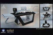 ACIV Abstergo Entertainment Bureau concept